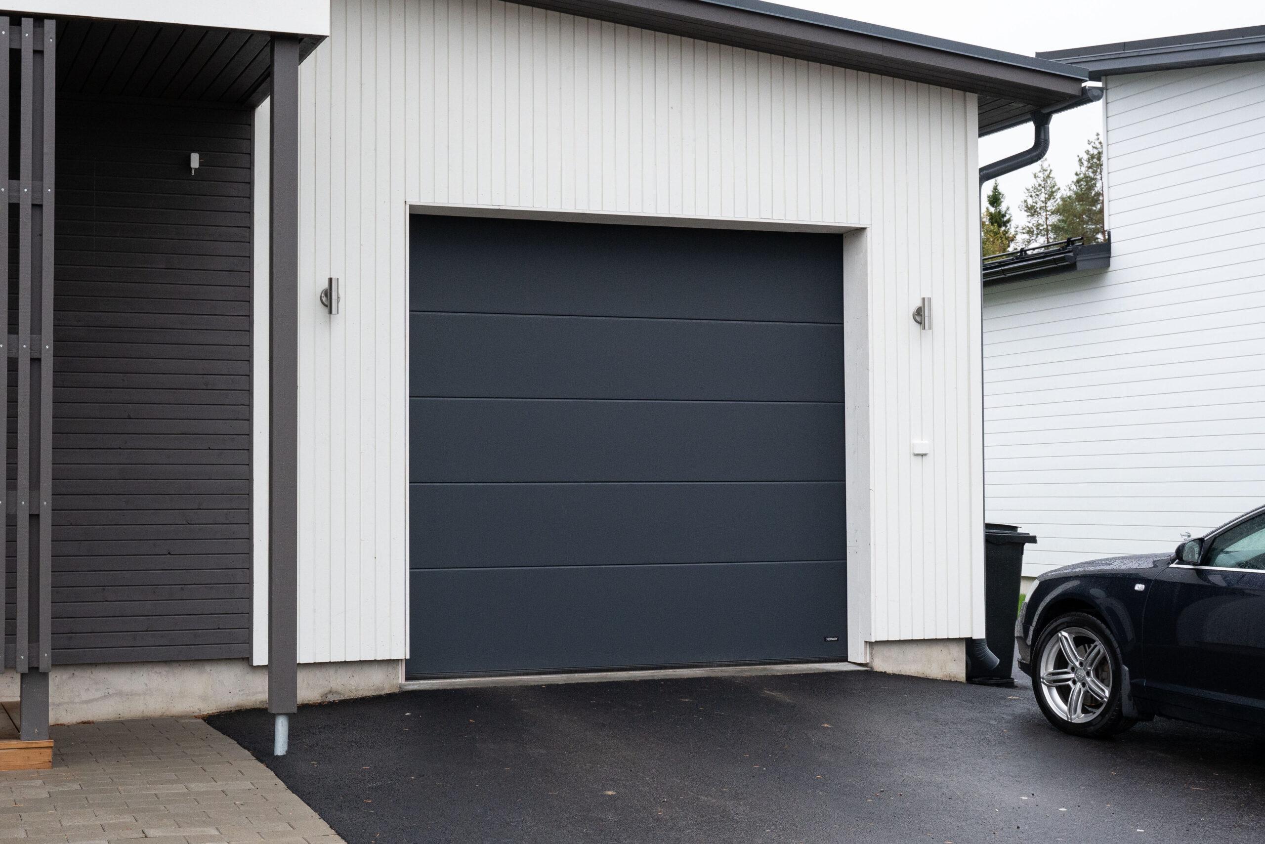 Doorway DW3 sileä tummanharmaa nosto-ovi
